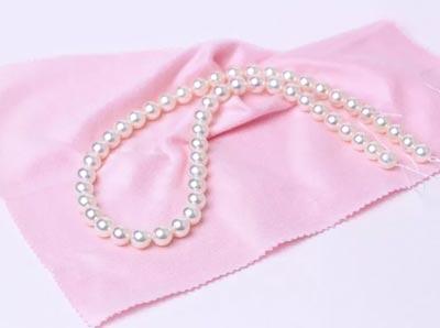 真珠のお手入れイメージ