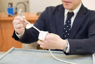 真珠のお手入れ方法