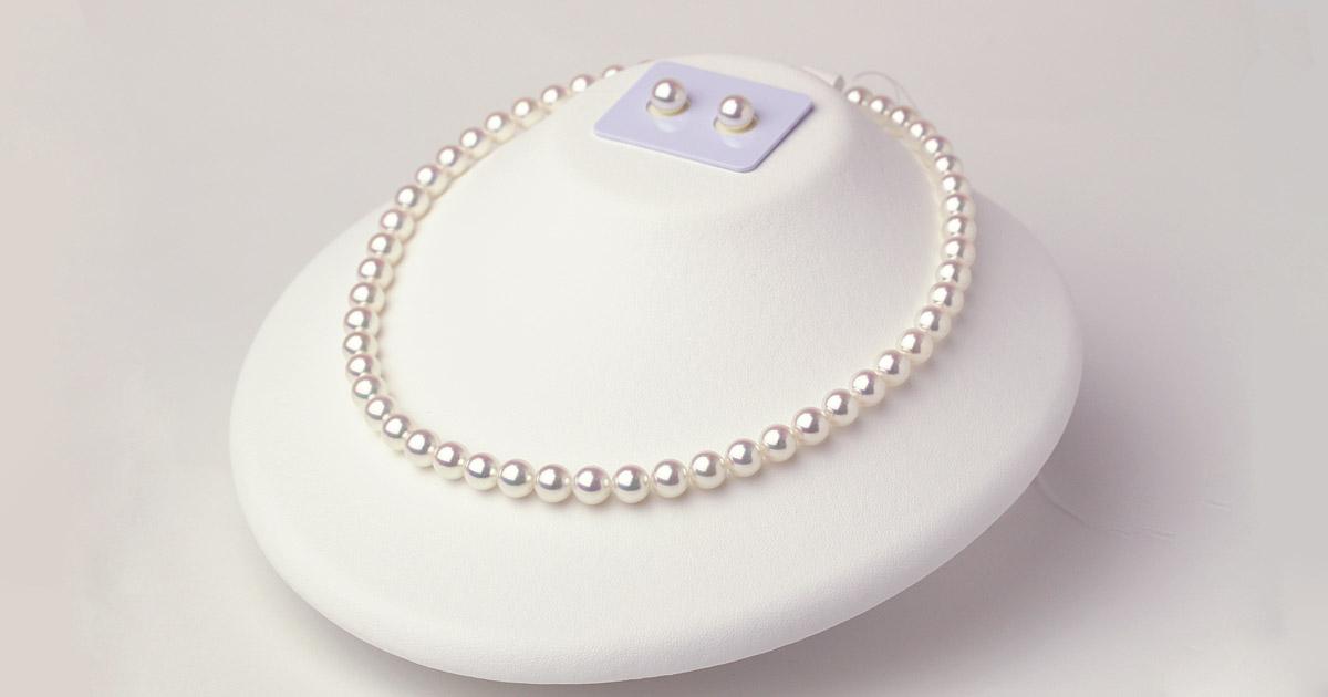 アコヤ真珠のネックレス