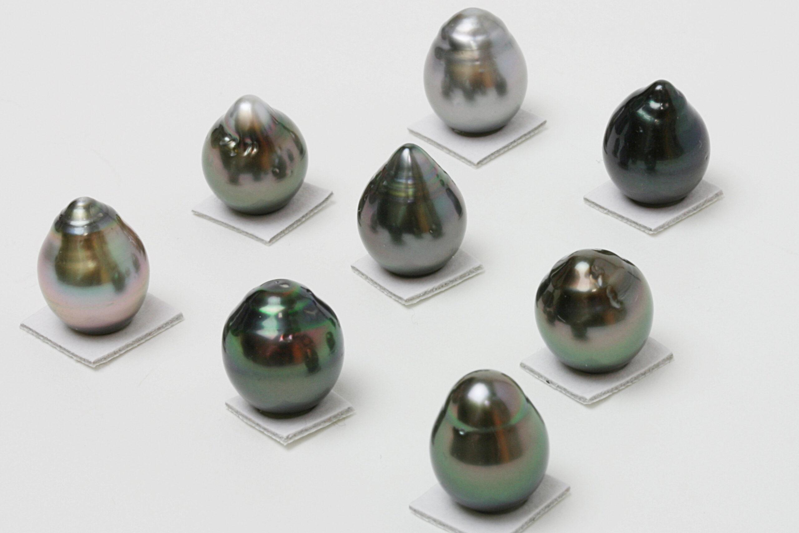 タヒチ黒蝶真珠のバロックパール